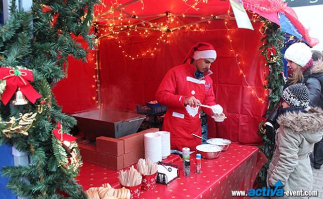 Weihnachtsmarkt-Buden-Veranstaltungsplanung