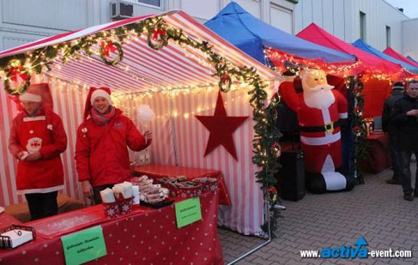 Ihr eigener Firmen-Weihnachtsmarkt