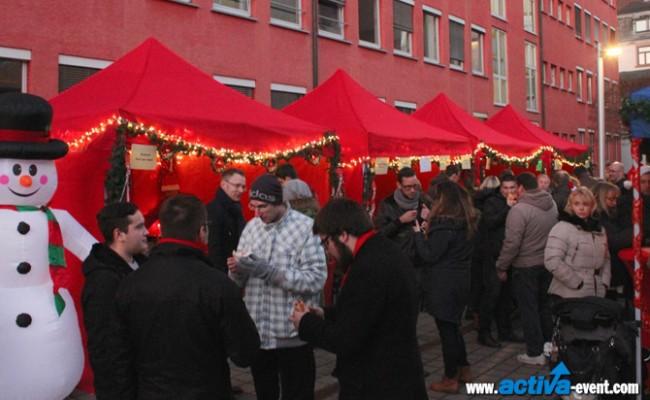 event-veranstaltungs-Weihnachtsmarkt-ausrichten