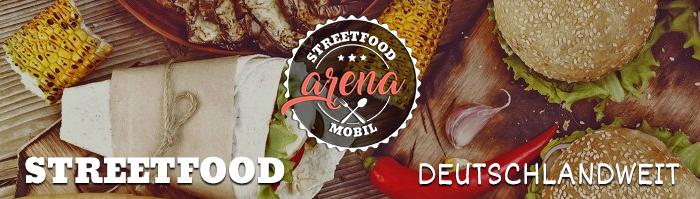 Zu unserem Angebot: Streedfood arena mobil/ Events und Catering für Firmenfesten